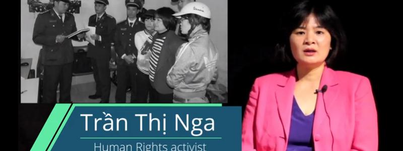 інтерв'ю з в'єтнамською активісткою Тран Тхі Нга