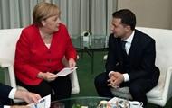Зеленский обсудит события на Донбассе с Меркель – СМИ