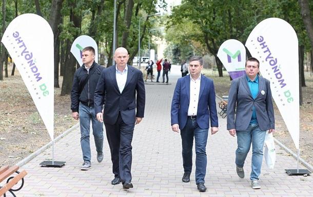 За майбутне станет альтернативой для Донбасса - Палица