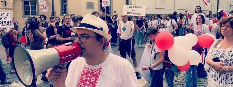 інтерв'ю з білоруським письменником та перекладачем Максом Щуром