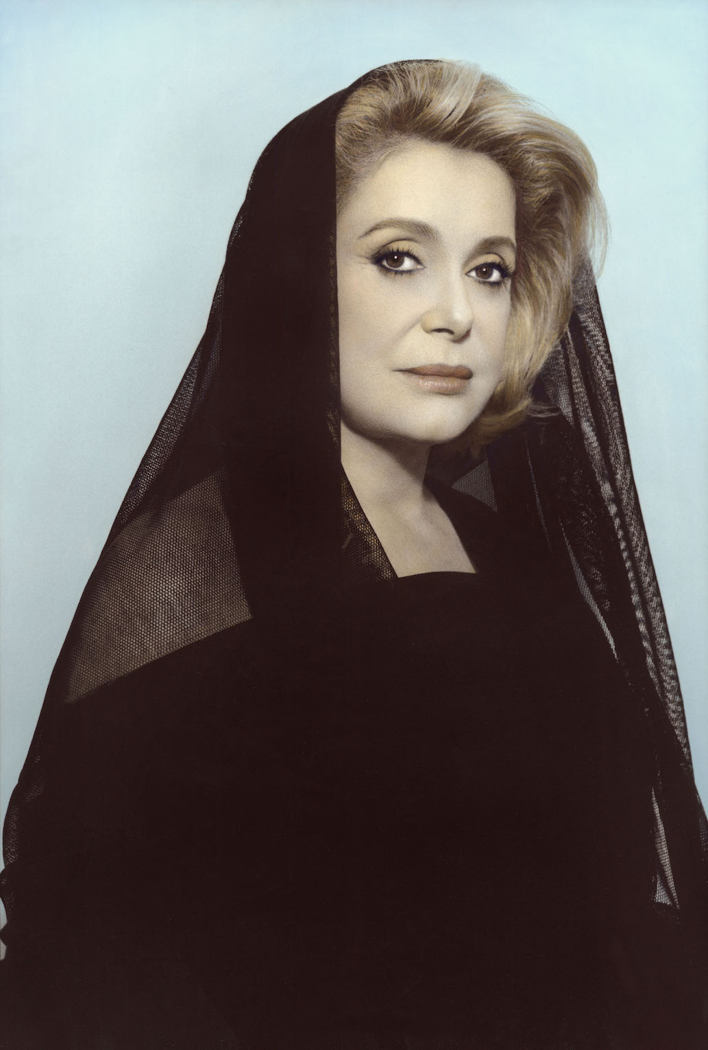 Youssef Nabil - Catherine Deneuve, Paris 2010 Hand colored gelatin silver print Courtesy of the Artist and Nathalie Obadia Gallery, Paris/ Brussels