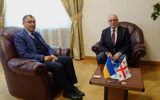 Грузия вернула своего посла в Украину