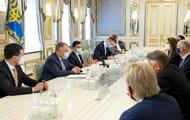 Главы МИД Бенилюкса обсудили с Зеленским Донбасс