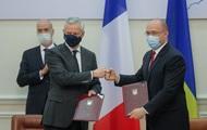 Украина и Франция подписали четыре соглашения