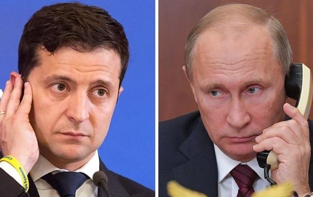 Кремль: Подвижек во встрече Путина с Зеленским нет